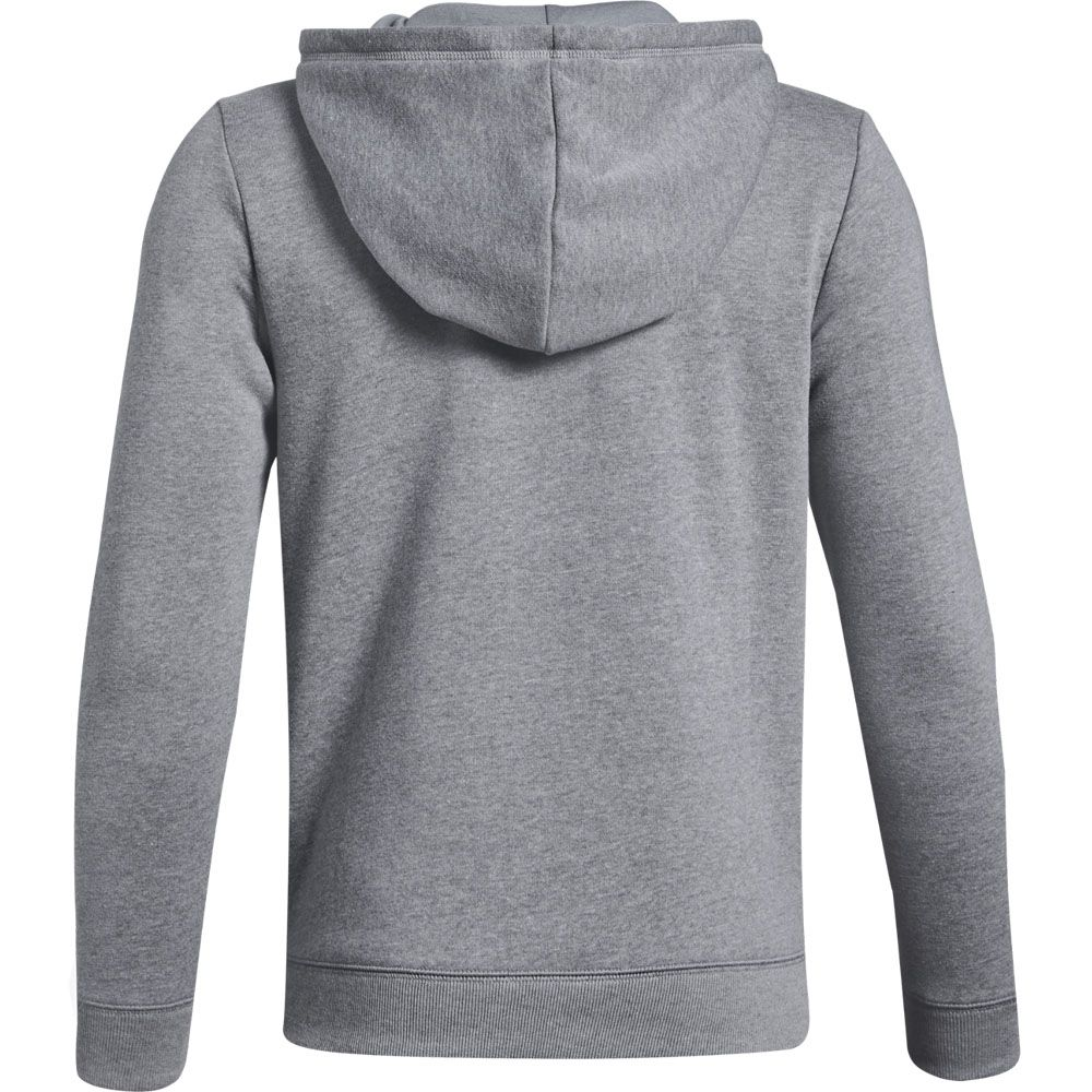 Cotton Fleece Kapuzenjacke Jungen steel light heather