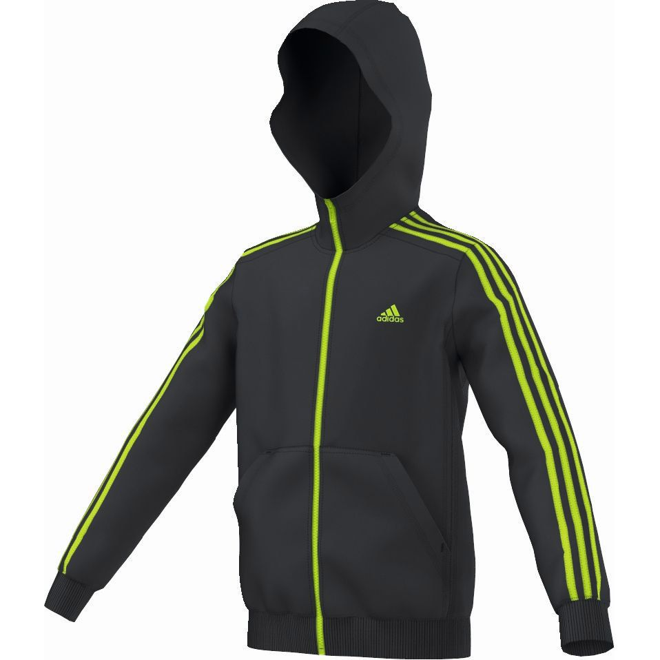 adidas Essentials 3S FZ Hoodie Brushed at Sport Bittl Shop