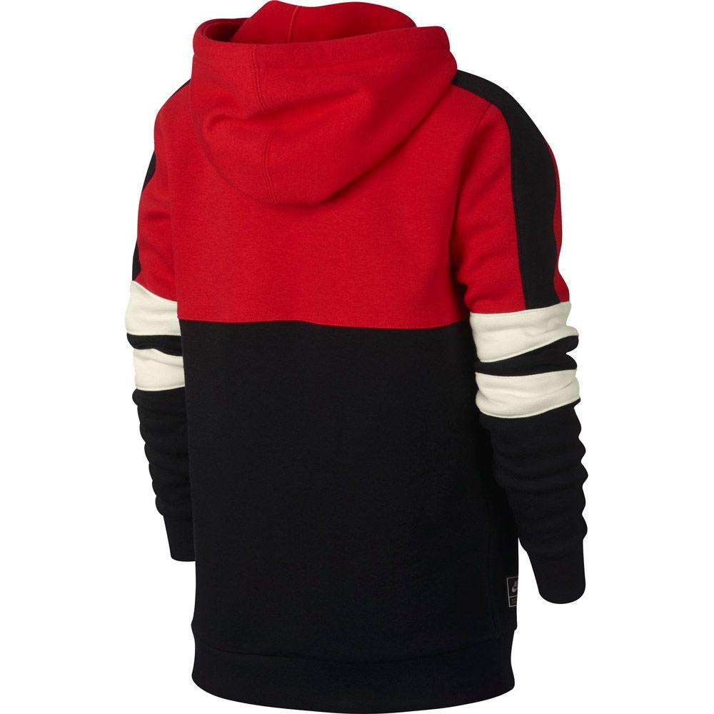 Nike Sportswear Half Zip Hoodie Jungen black sail kaufen