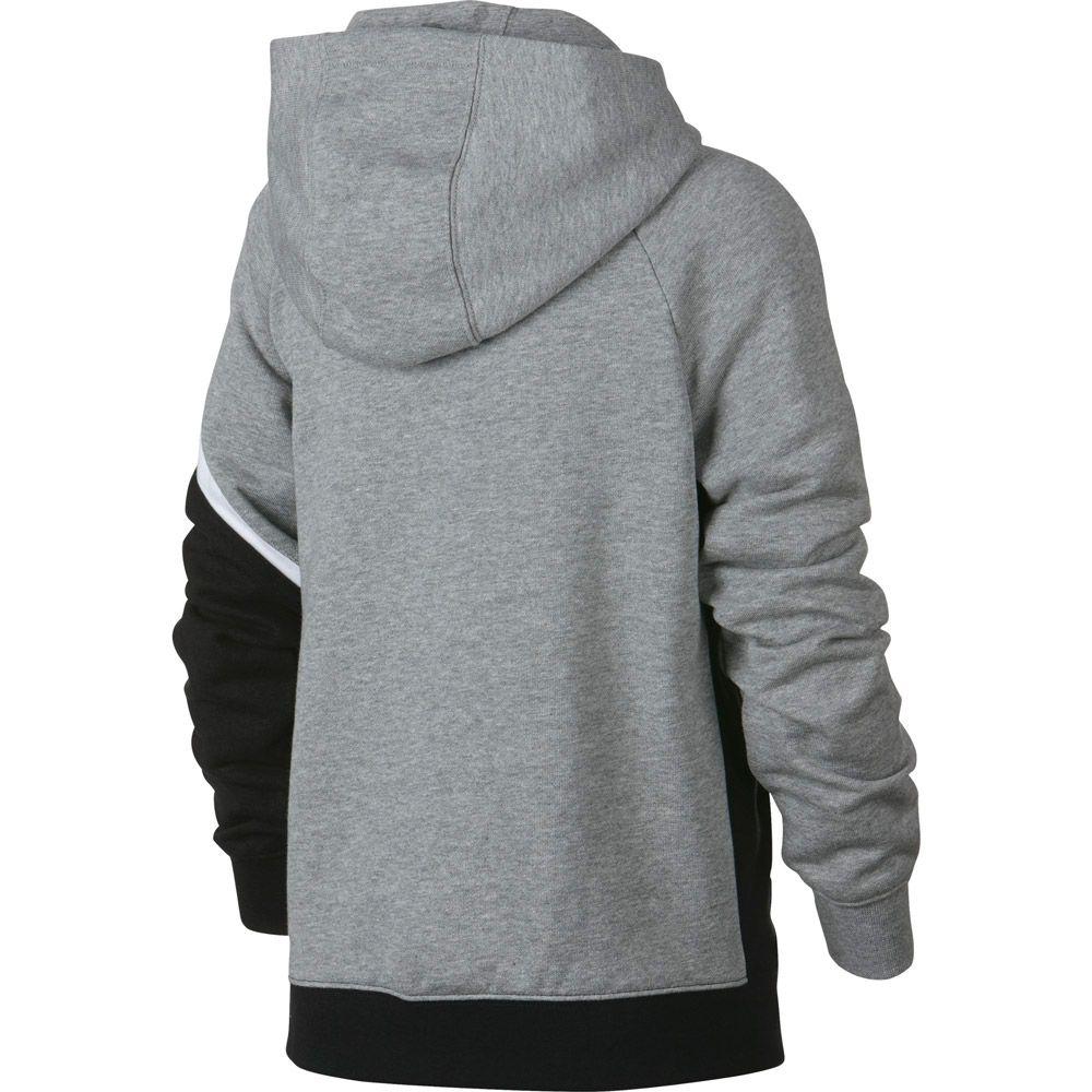 Nike Sportswear Kapuzenjacke Jungen dark grey heather black