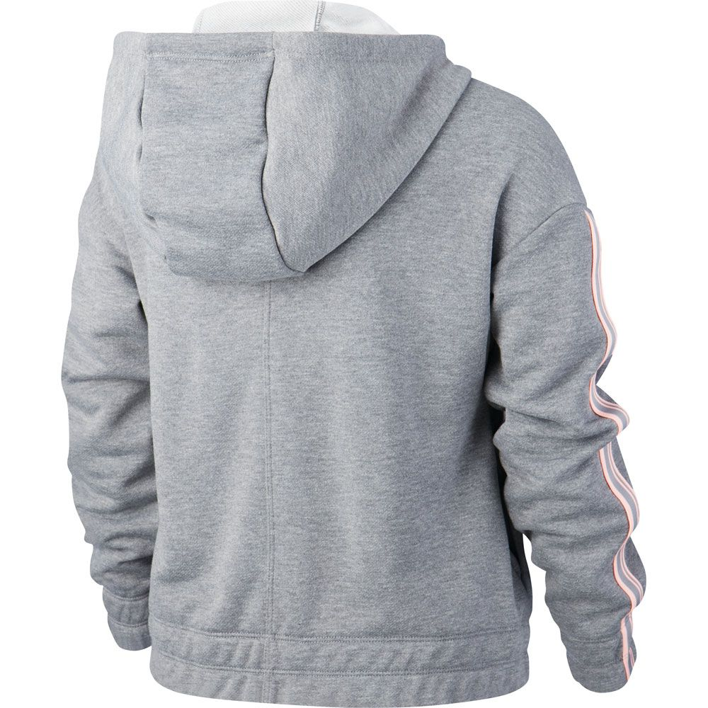 official photos ece00 ca6c6 Nike - Studio Full-Zip Hoodie Kinder carbon heather bleach