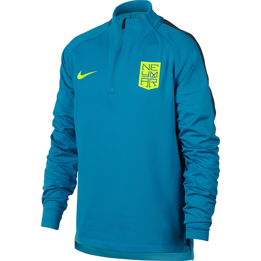 aliexpress USA billig verkaufen besserer Preis Nike - Dry Neymar Squad Drill Football Top Kids blue at ...