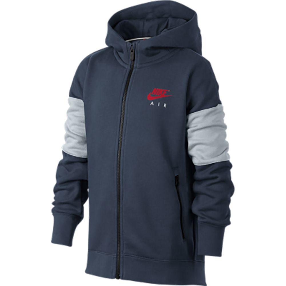 Nike - Air Hoodie Kids navy at Sport Bittl Shop e14313930