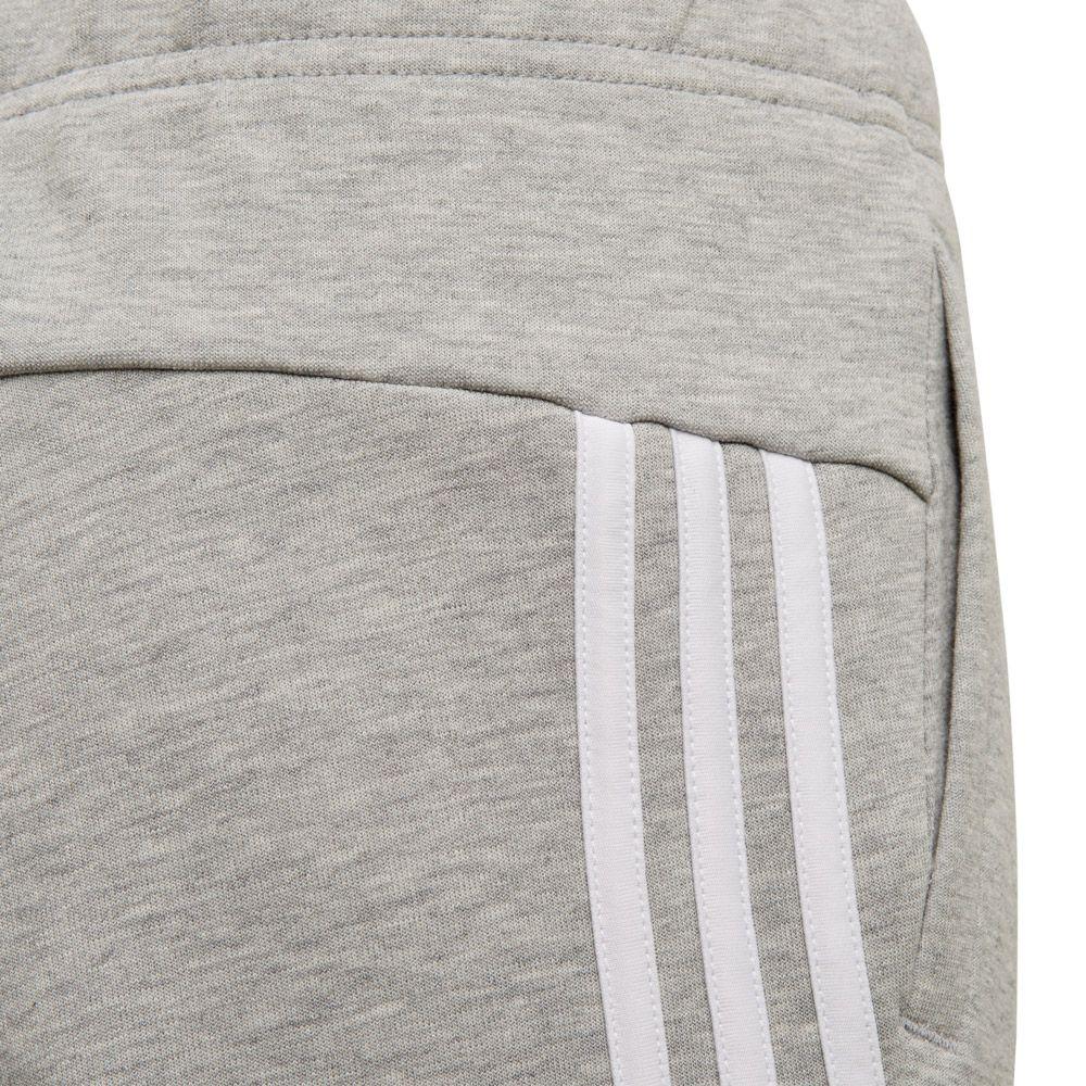 adidas Must Haves 3 Streifen Trainingshose Mädchen medium grey heather white