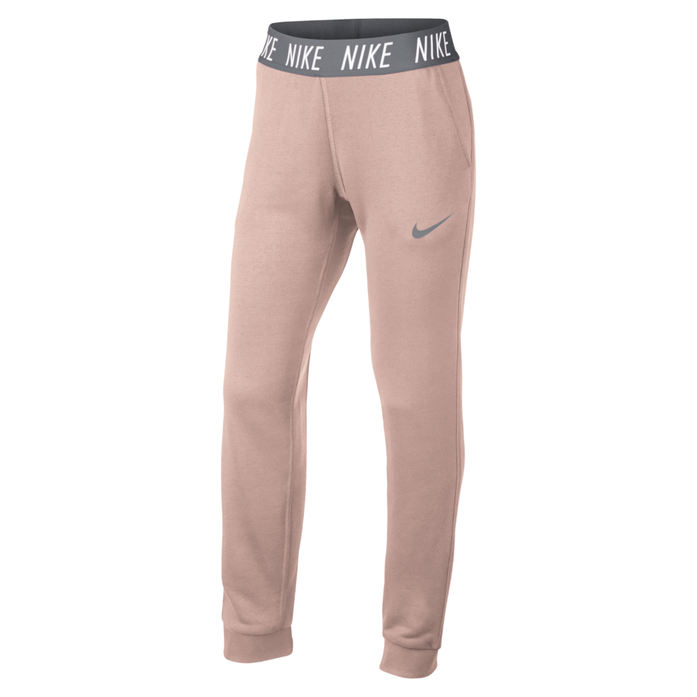 Nike Dri Fit Core Studio Training Pants Girls rose