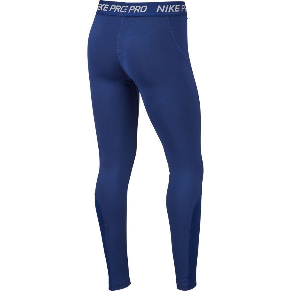 Nike Pro Trainings Pants Kids blue void