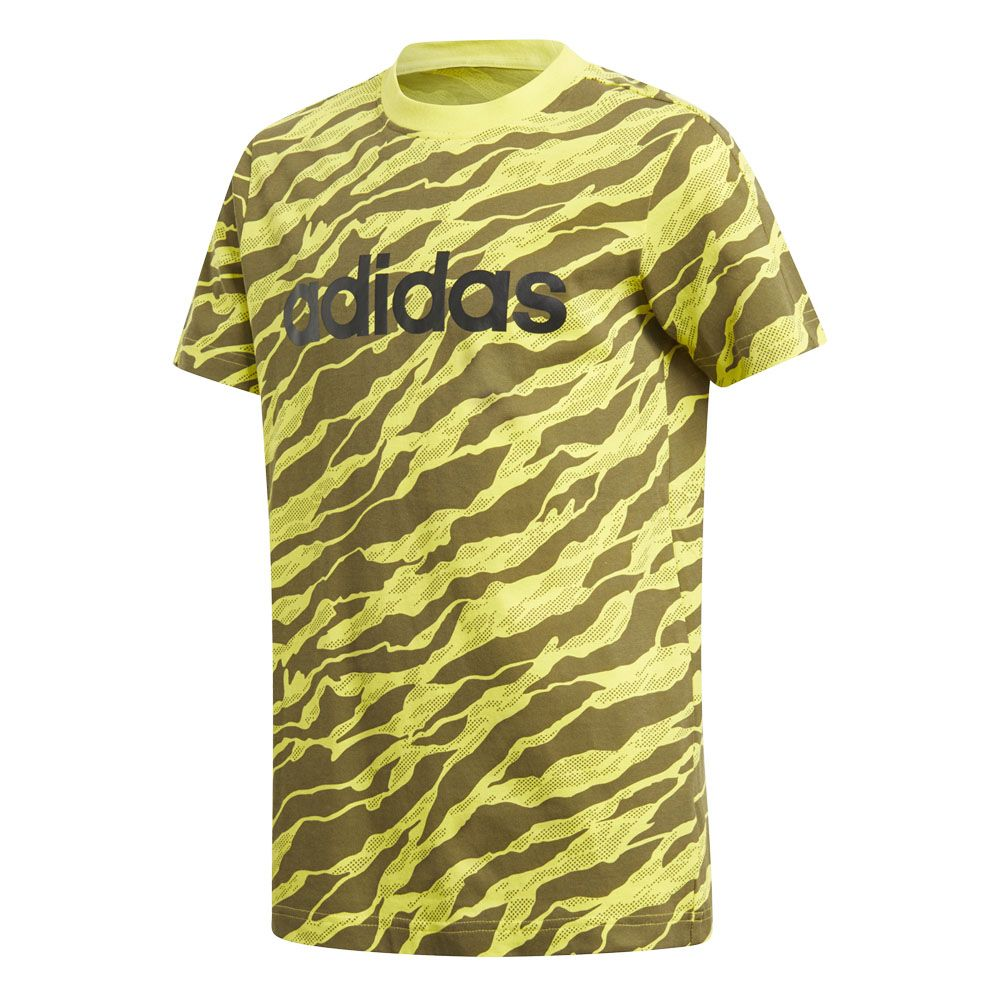 adidas shirt gelb