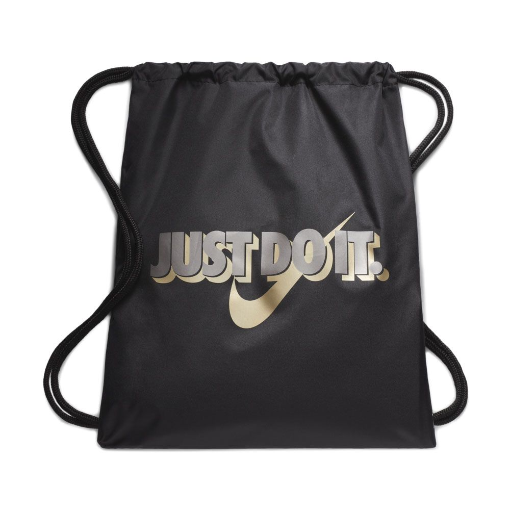 867a41596 Nike - Graphic Gymsack Kids black metallic gold star at Sport Bittl Shop