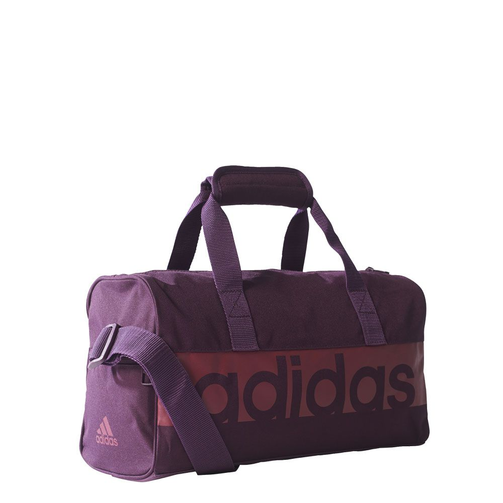 769745a2b8a3 adidas - Linear Performance Duffel Bag XS kids red night mystery ...