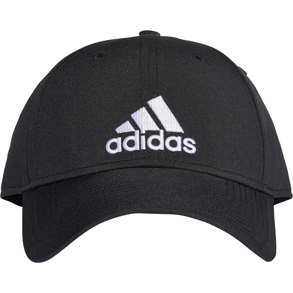 adidas - Classic Six-Panel Lightweight Cap Unisex black white at ... e86a6a756637