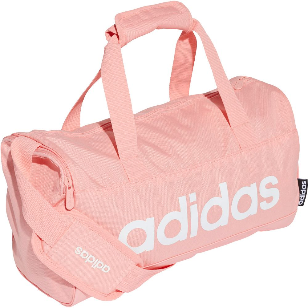 adidas Linear Duffel Bag XS glory pink white at Sport