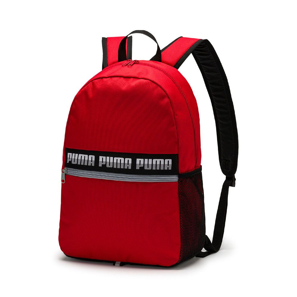 3e9d3a87e28f Puma - Phase Rucksack II high risk red at Sport Bittl Shop