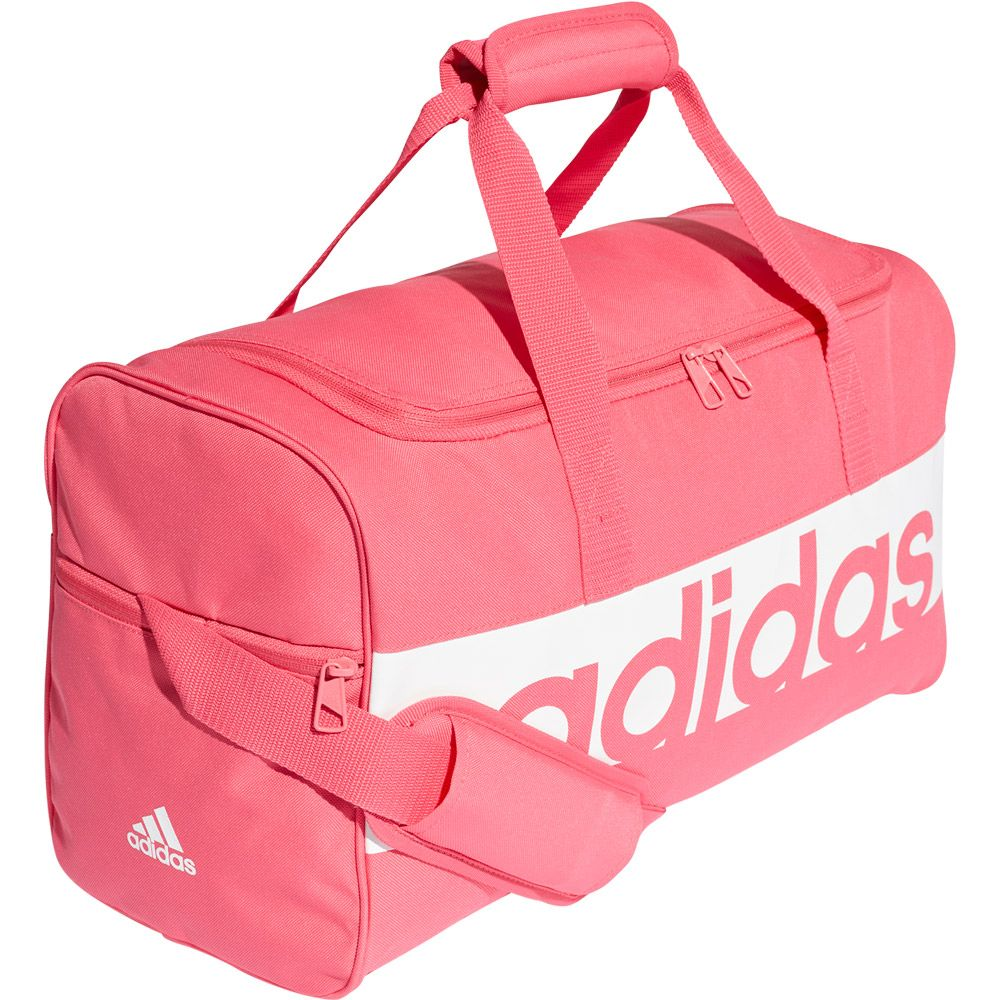3098019257 adidas - Linear Performance Team Bag S real pink white at Sport ...