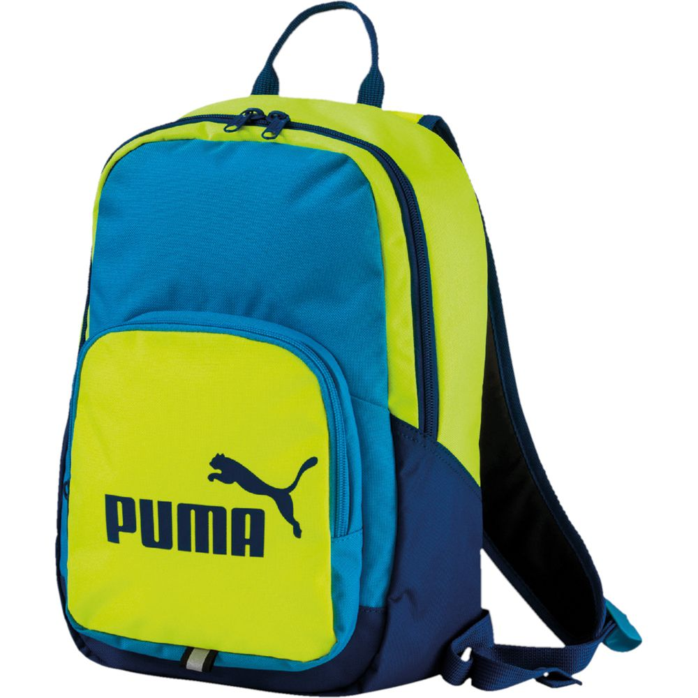 f0aed55ab Puma - Phase Backpack small Kids green blue at Sport Bittl Shop