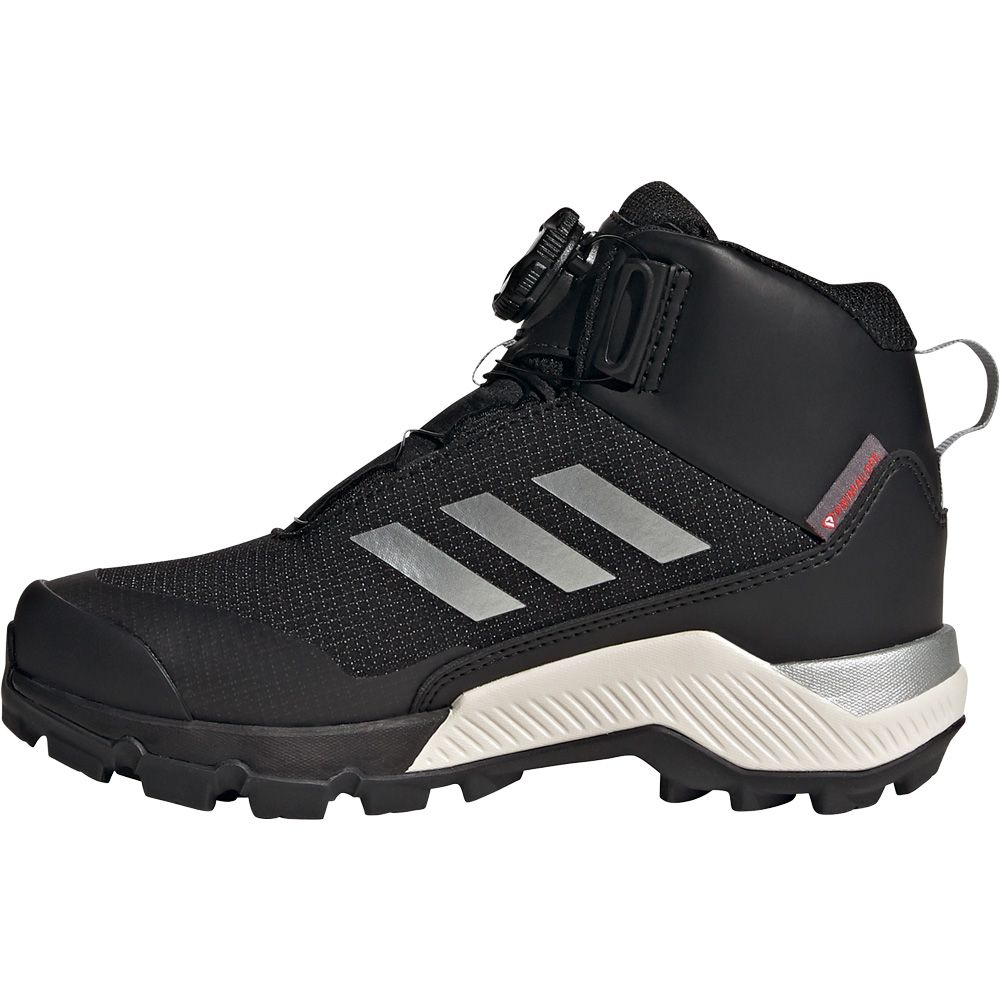 Mensurable Pompeya cubo  adidas - Terrex Winter Mid Boa Hiking Shoes Kids core black silver metallic  at Sport Bittl Shop