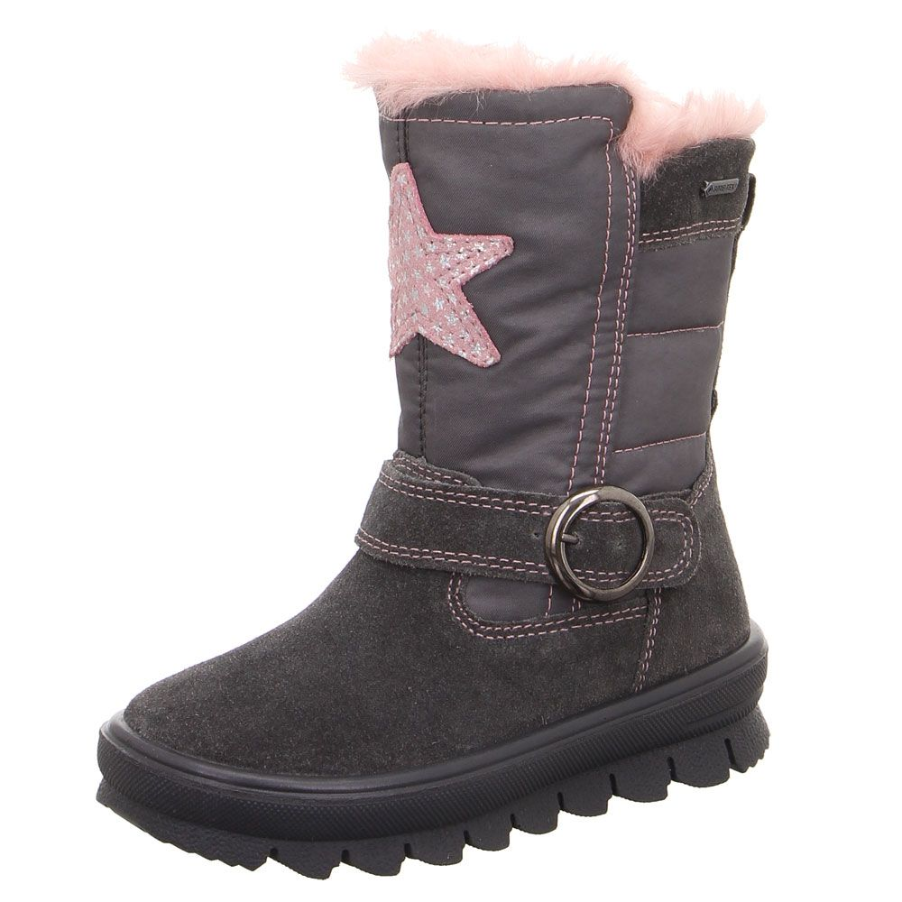 new style 6c6e6 5c580 Superfit - Flavia Winter Boot Kids grey pink estate