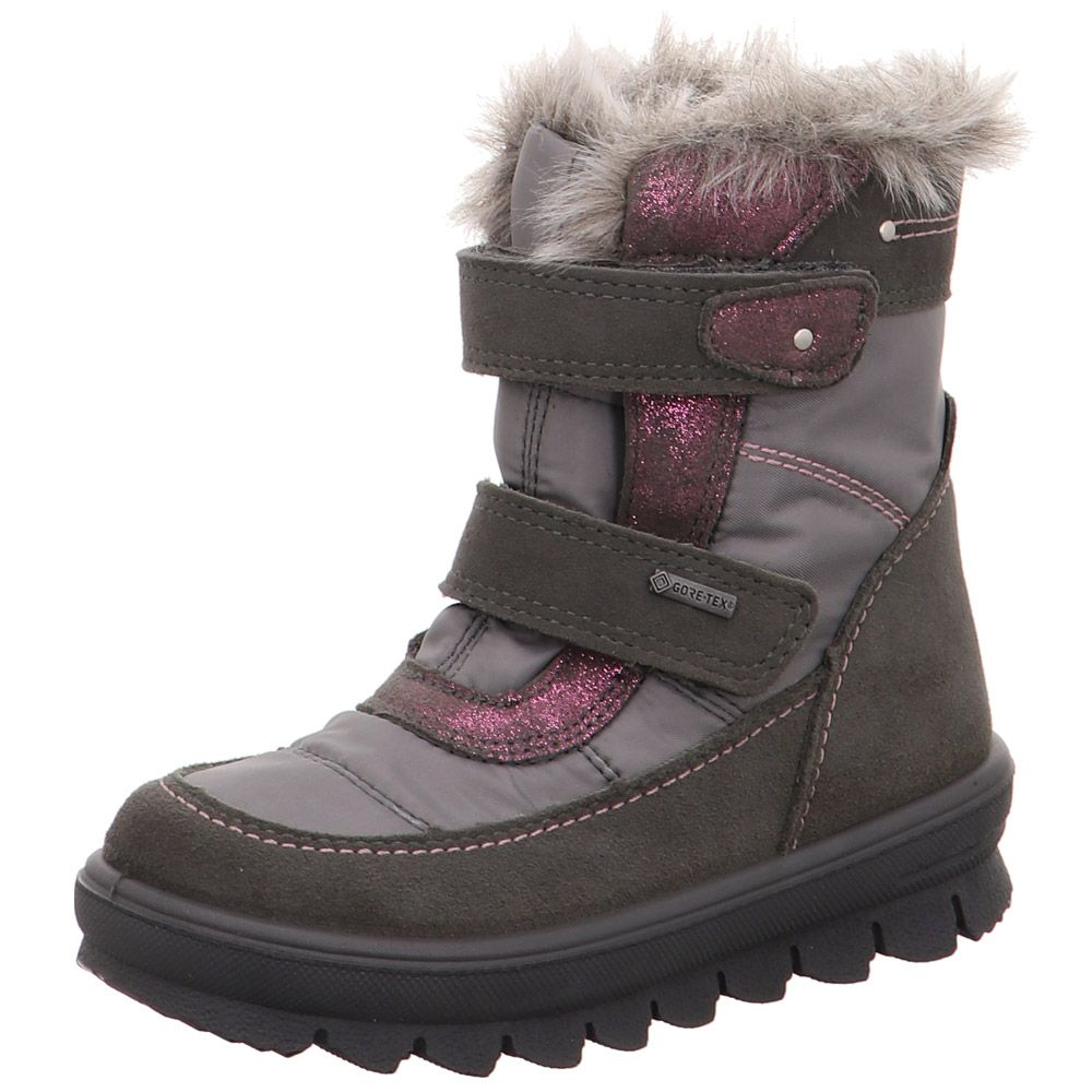 Flavia Winter Boots Girls grey pink
