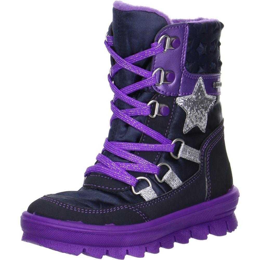 Superfit - Flavia GTX® Winter Boots Girls blue-purple at Sport Bittl ... a04c14068cb