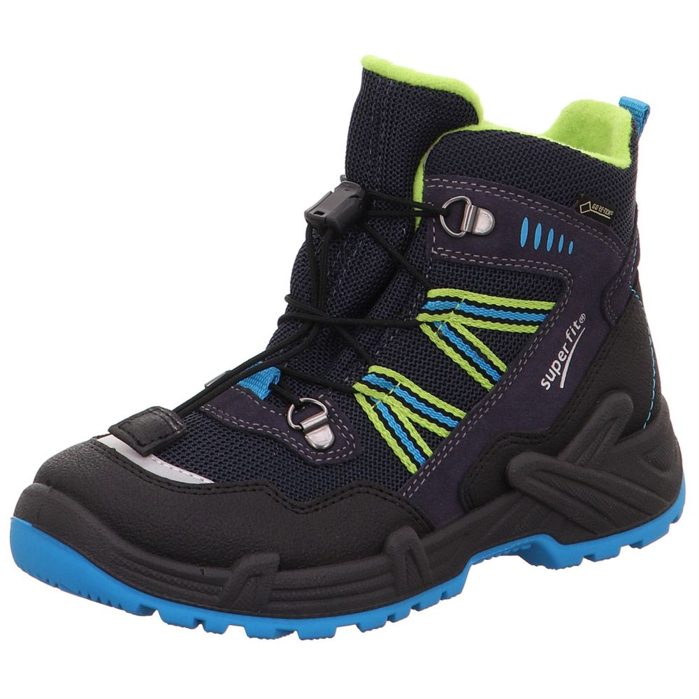 Canyon Slip Boots GTX Jungen black blue green
