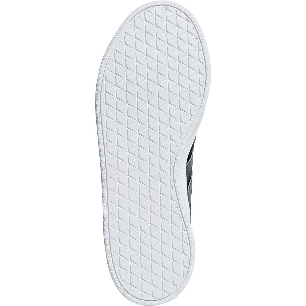 adidas VL Court 2.0 Sneaker Kinder core black grey five hi res yellow