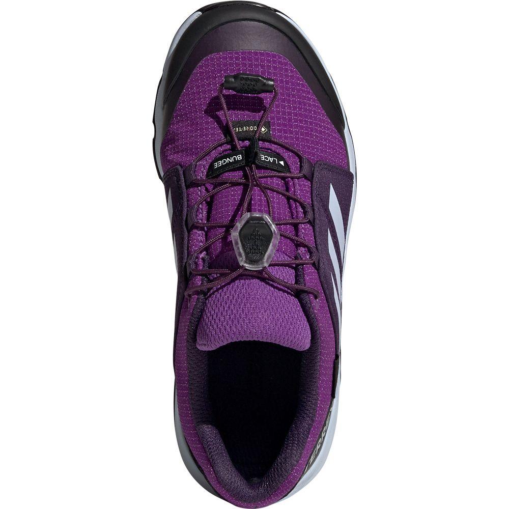 Terrex GTX Wanderschuhe Kinder active purple aero blue true pink