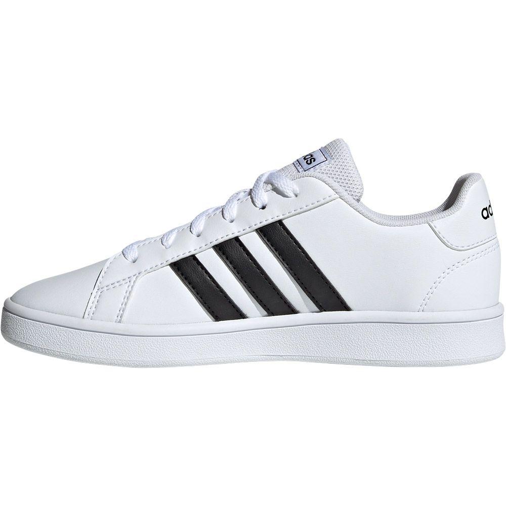 adidas Grand Court Shoes Kids footwear white core black