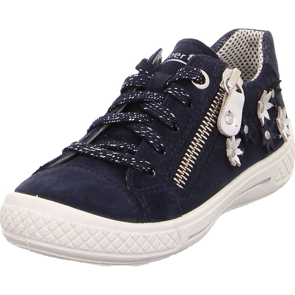 Gallina Búsqueda jaula  Superfit - Tensy Flower Loafer Girls blue at Sport Bittl Shop