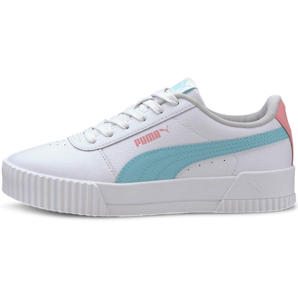 Puma - Carina L Jr Sneaker Girls puma white gulf stream
