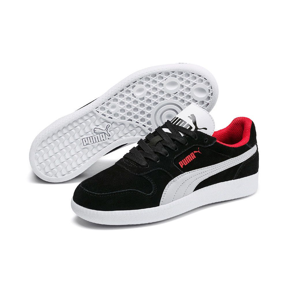 pase a ver impermeable auditoría  Puma - Icra Trainer SD Jr. Sneaker Kids puma black gray violet puma white  high risk red at Sport Bittl Shop