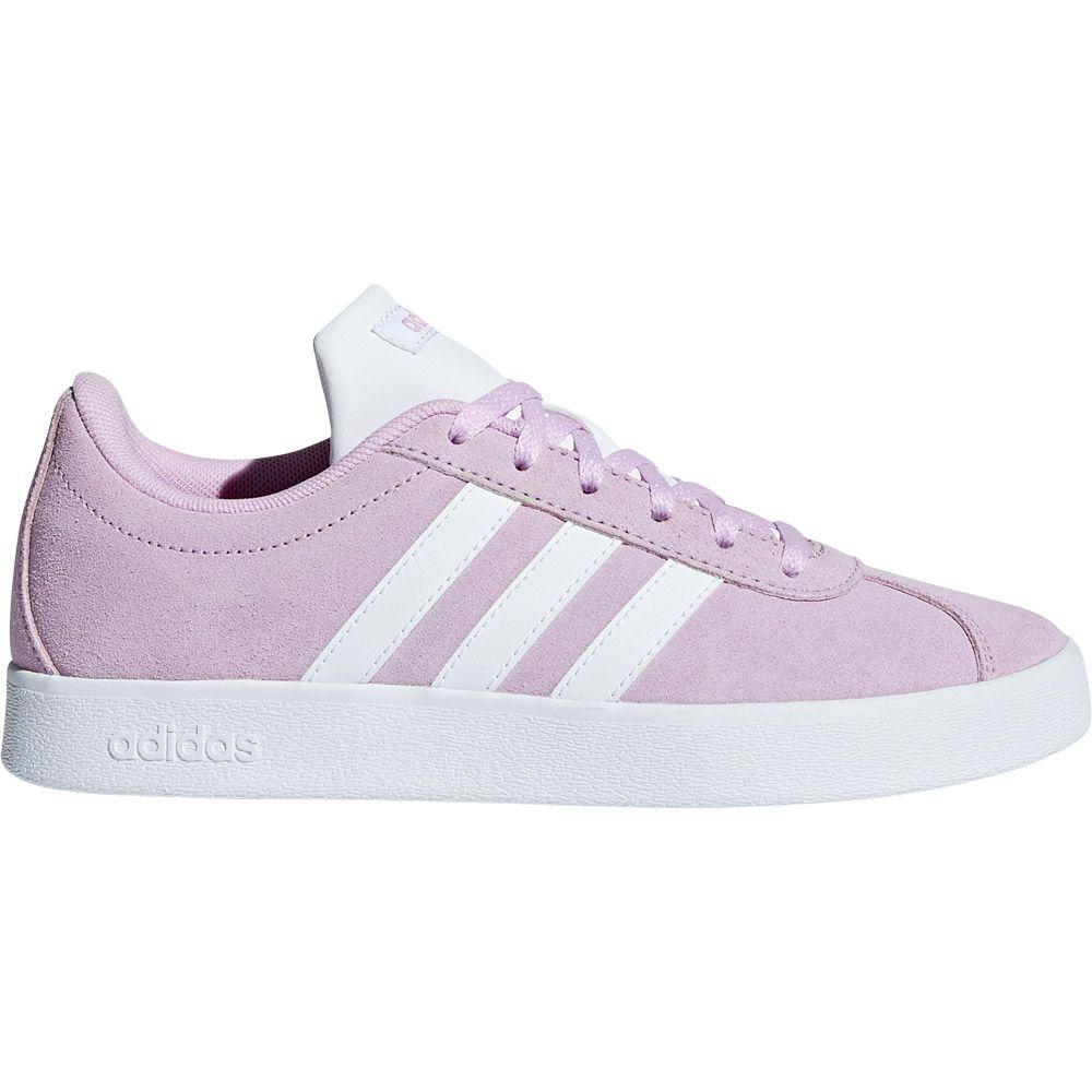 adidas VL Court 2.0 Sneaker Kids clear lilac footwear