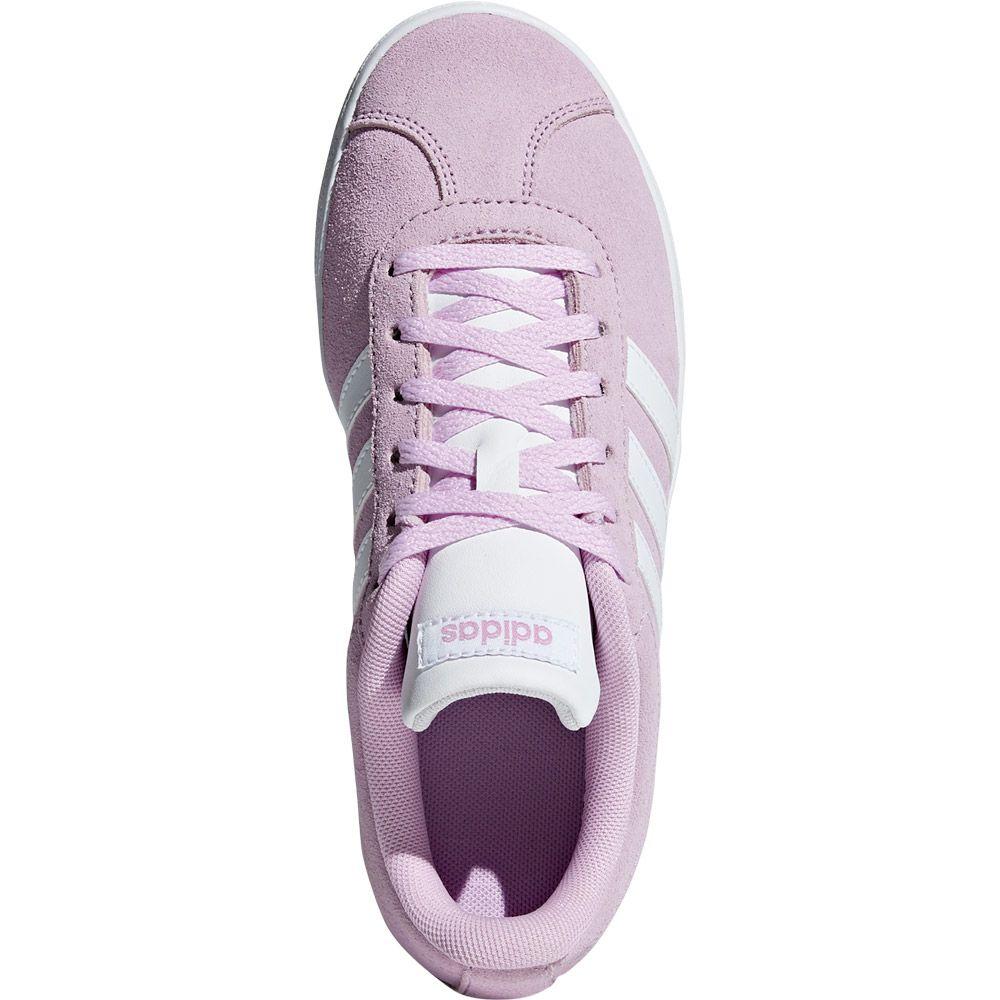 adidas - VL Court 2.0 Sneaker Kids clear lilac footwear white