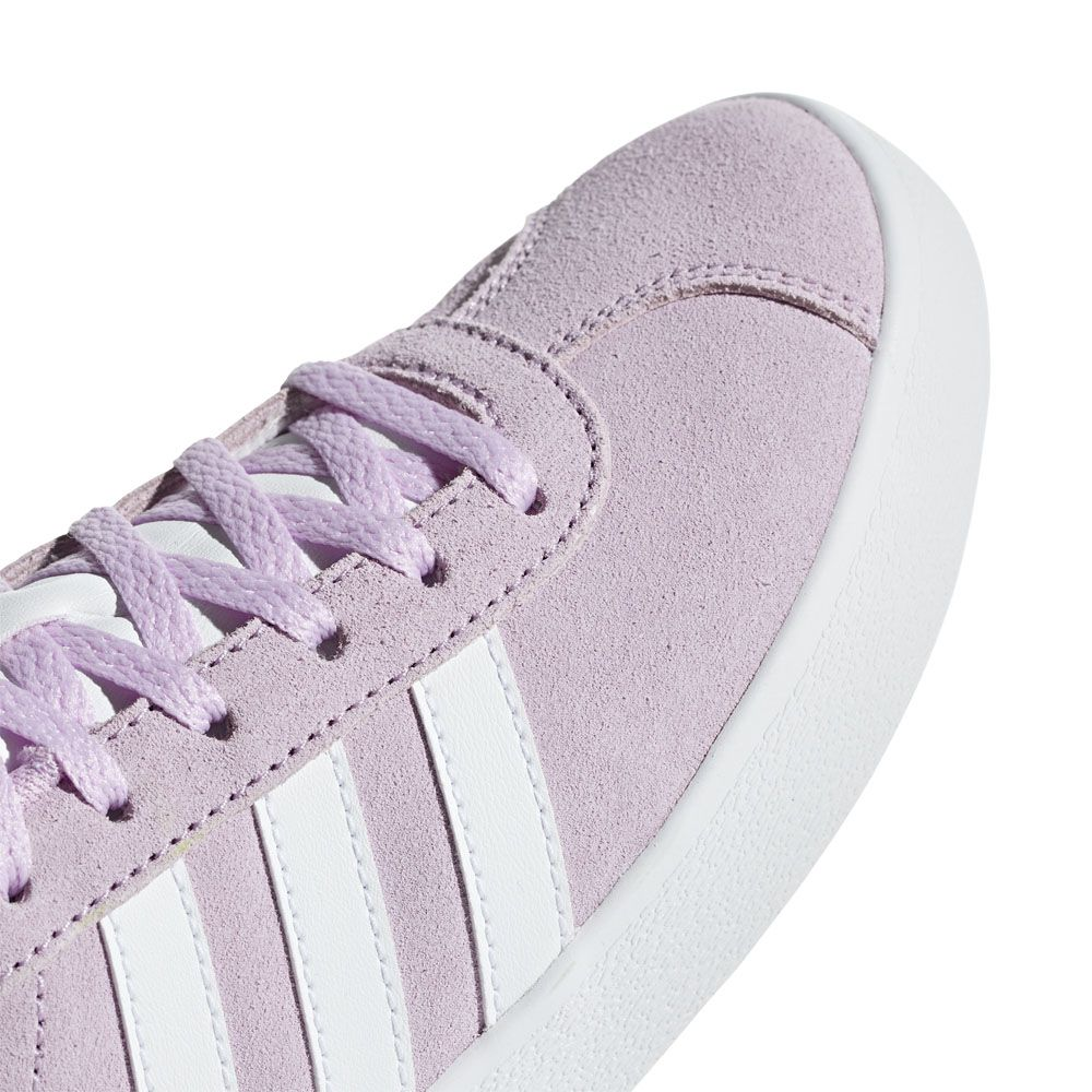 adidas VL Court 2.0 Sneaker Kinder clear lilac footwear white