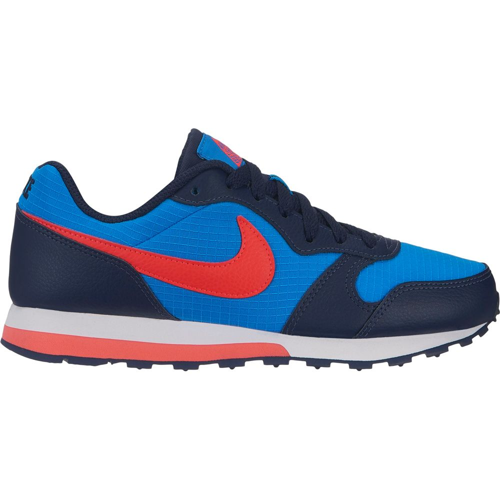 Nike MD Runner 2 (GS) Sneaker Boys photo blue bright crimson obsi