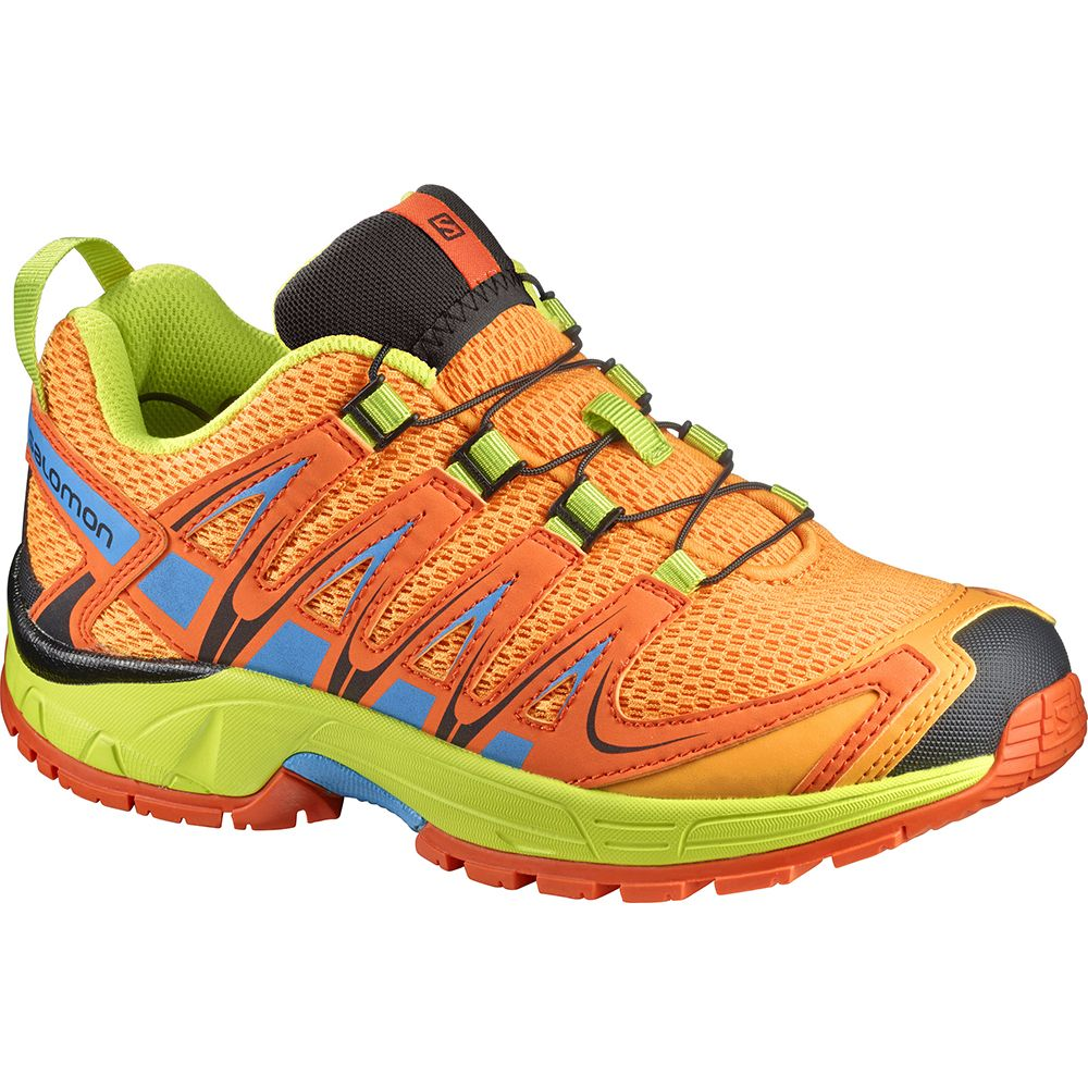 brand new 8c20f b925c Salomon XA Pro 3D Kids bright marygold