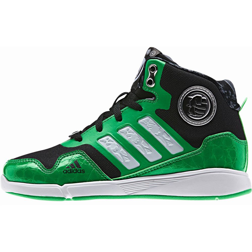 adidas DY Avengers Mid K shoes boys green at Sport Bittl Shop