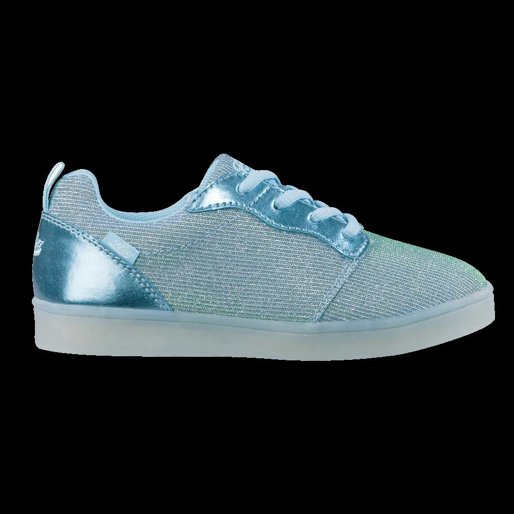 new style beb72 8ce70 Brütting - Disco Low Blinki Sneaker Girls blue