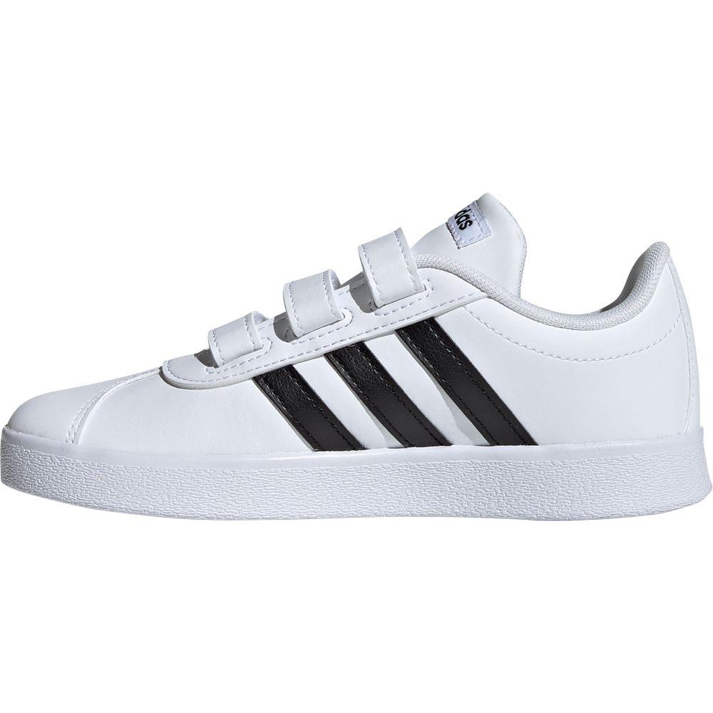 adidas - VL Court 2.0 Shoes Kids footwear white core black