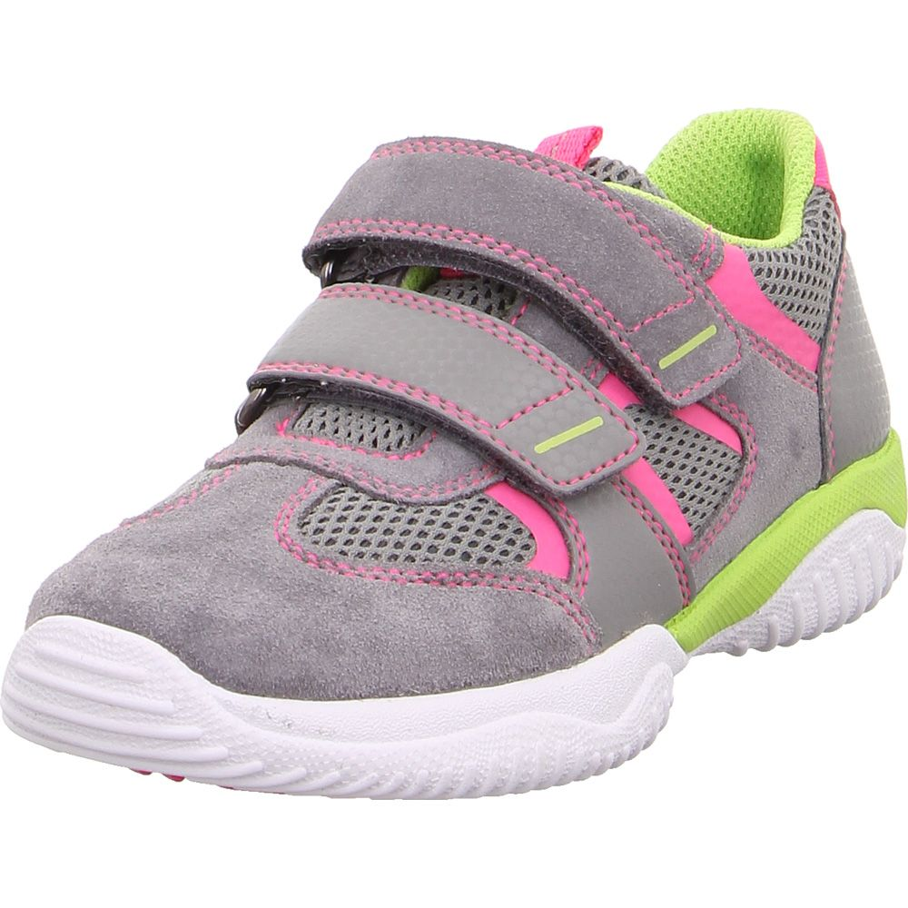 Storm Leather Sneaker Girls light grey rose
