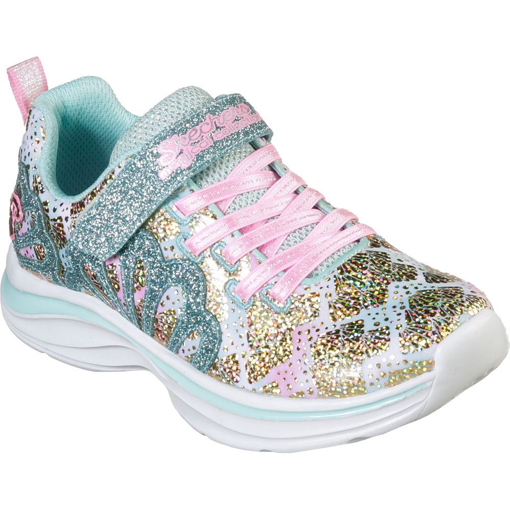 clearance prices really cheap good quality Skechers - Double Dreams Mermaid Music Sneaker Girls aqua pink