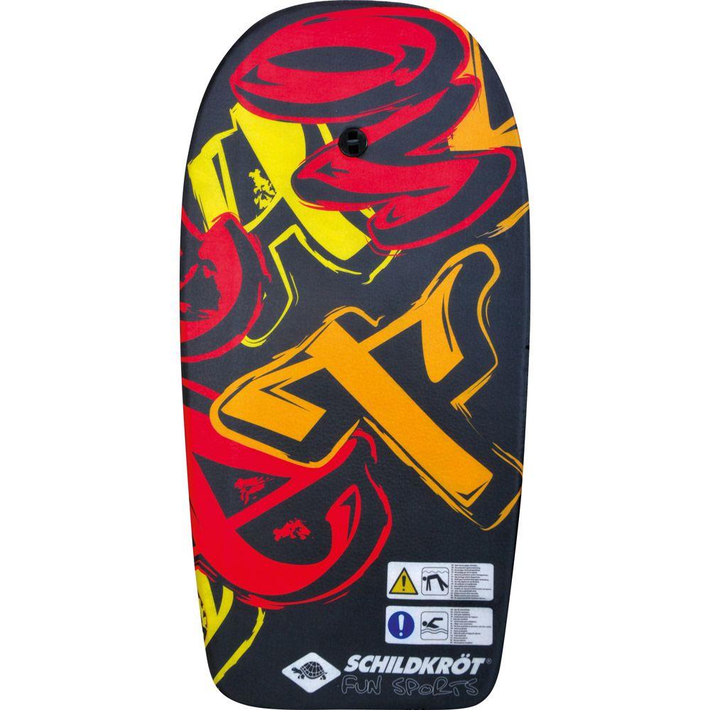 Bodyboard L schwarz rot