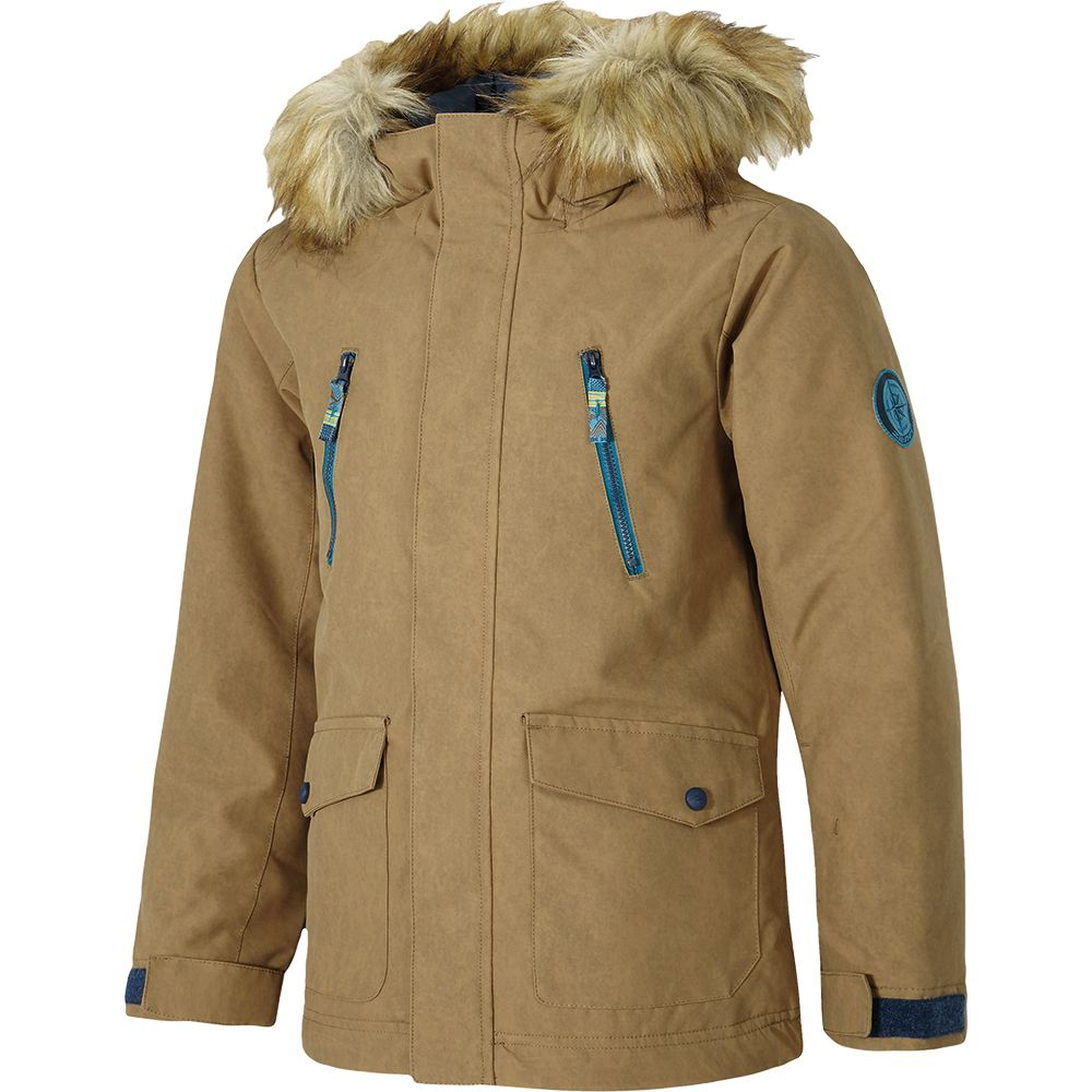 the best attitude 3cf70 e4035 Ziener - Abudi Ski Parka Boys beige splash at Sport Bittl Shop