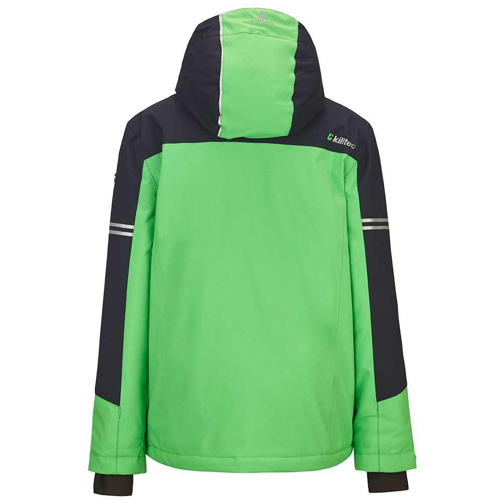 Yurik Junior Kids Jacket Killtec Green Ski lJc1uFTK3