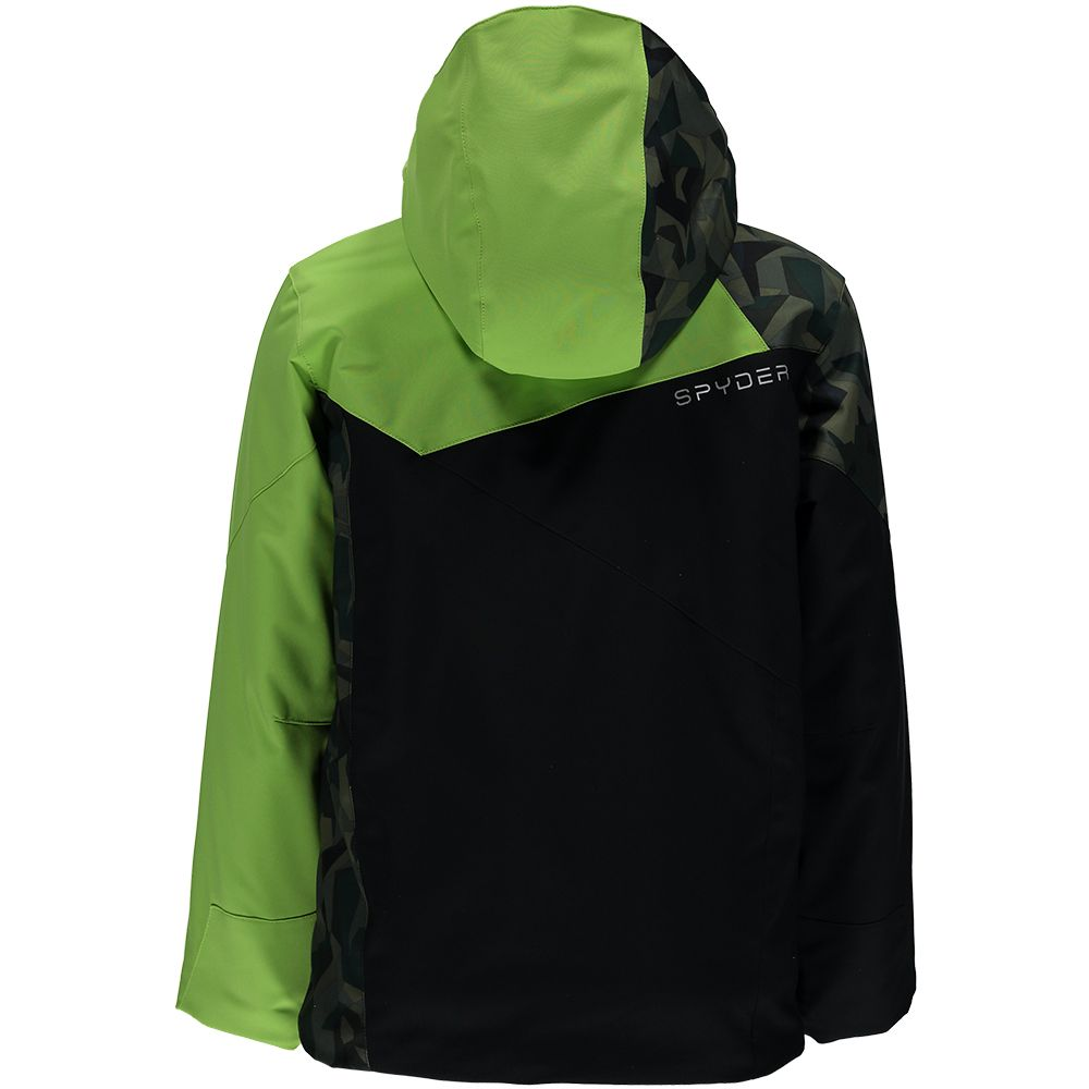 Spyder Ambush Jacke Jungen black mini camo guard fresh