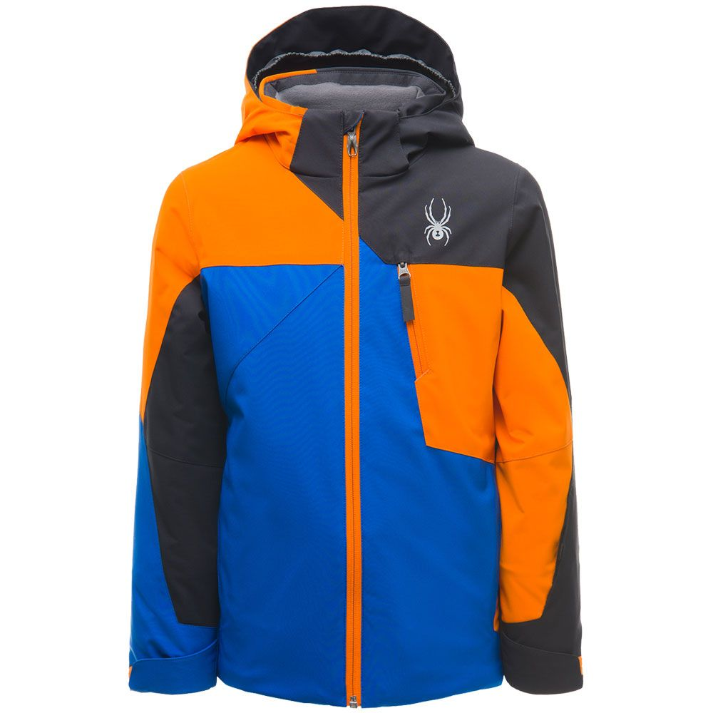 21f4c6ea632f Spyder - Ambush Ski Jacket Boys black blue orange