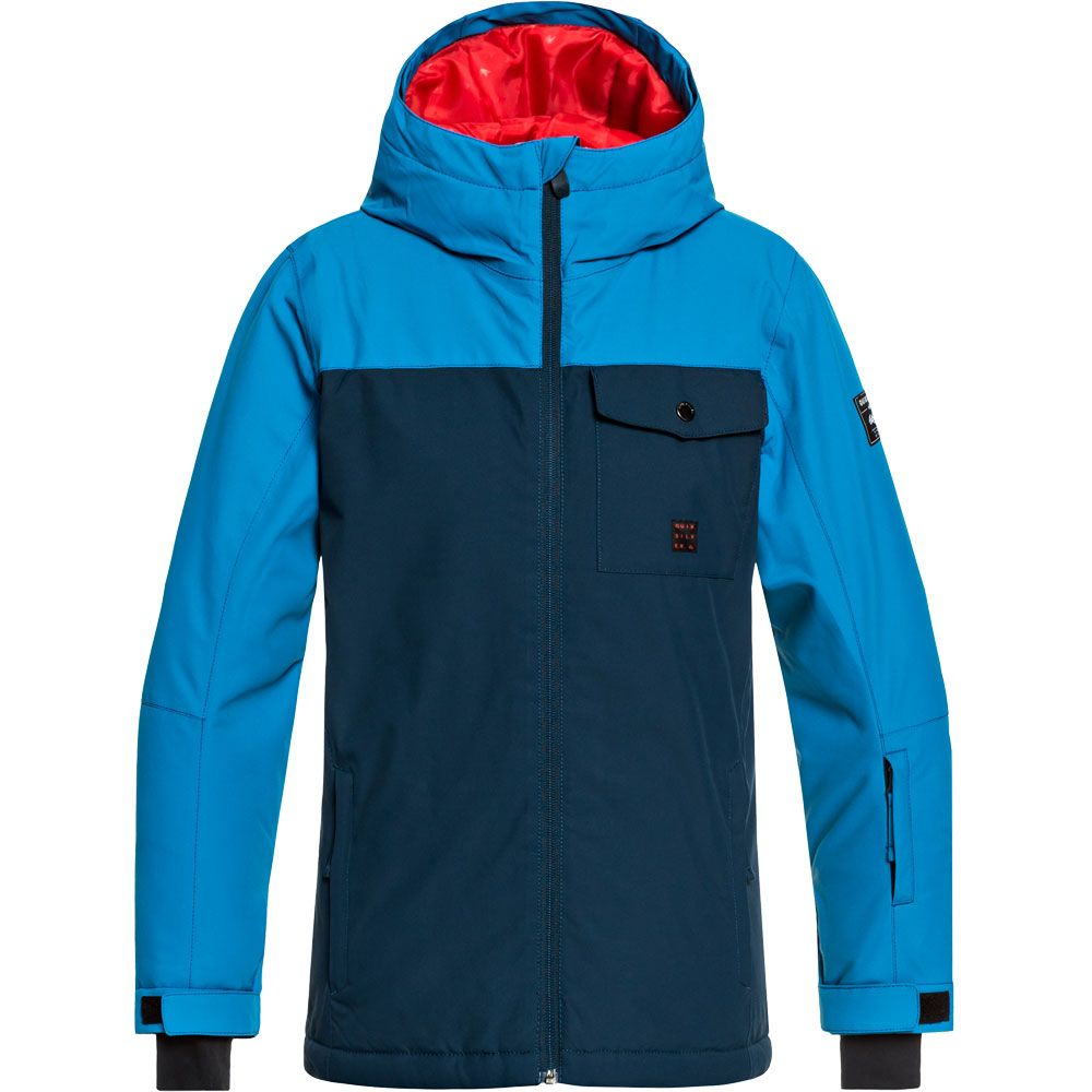 quiksilver mission solid skijacke jungen dress blues kaufen im sport bittl shop. Black Bedroom Furniture Sets. Home Design Ideas