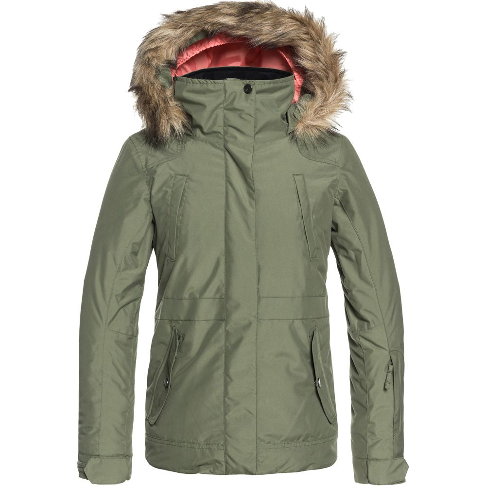 3d834743c2ff Roxy - Tribe Snow Jacket Kids four leaf clover at Sport Bittl Shop