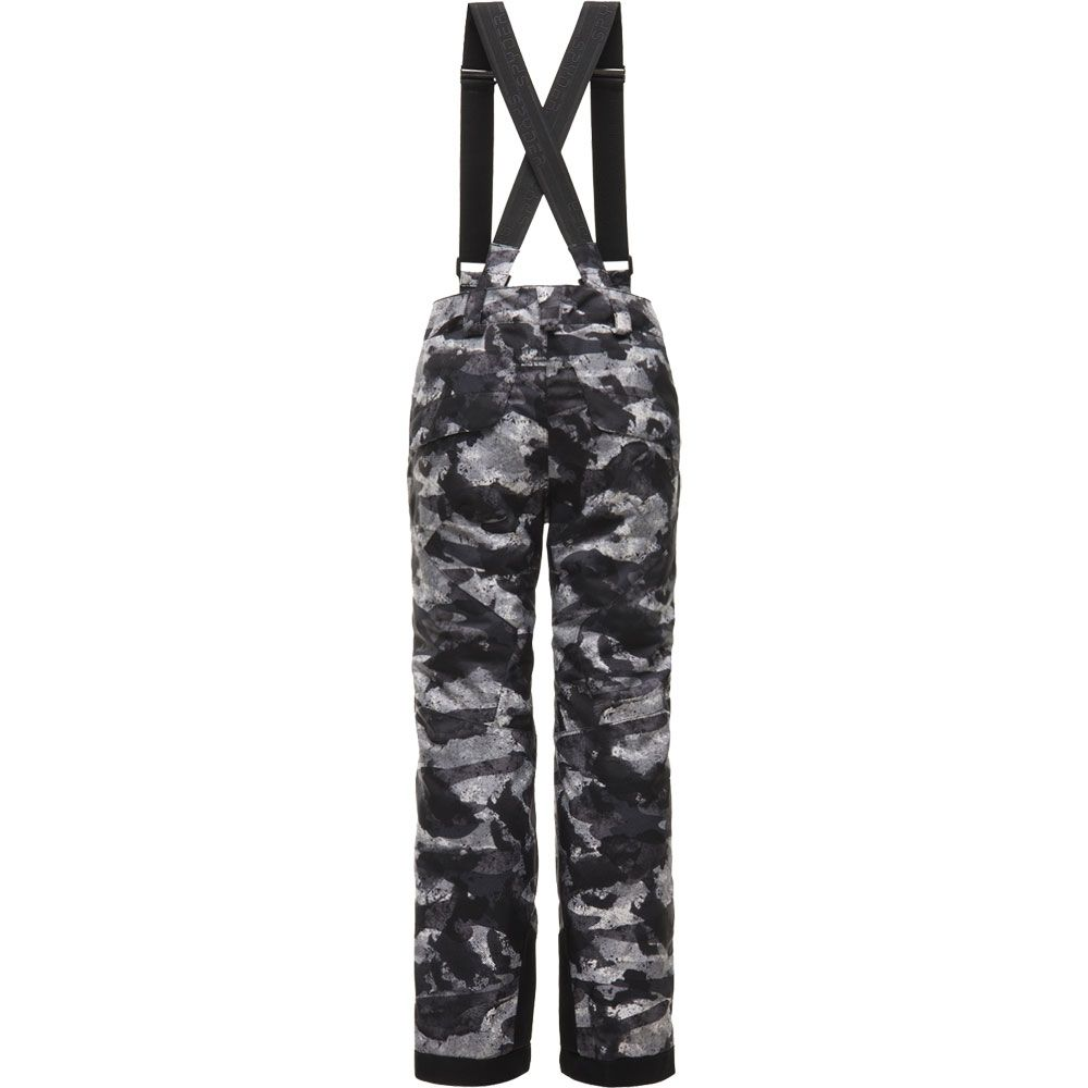 f3109bfeb565 Spyder - Propulsion Camo Ski Pants Boys black grey