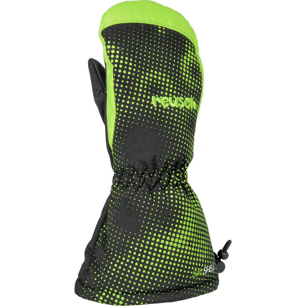 e5beca31d14dc1 Reusch - Maxi R-TEX® XT Fäustlinge Kinder black neon green kaufen im ...