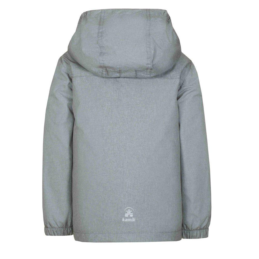Gordon Quilt Double Jacket Kids mix charcoal