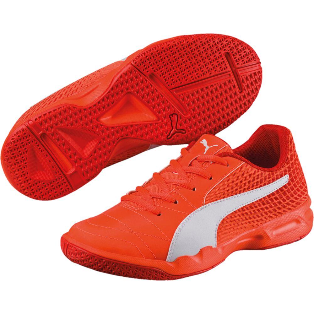 19d6c221e88ad0 Puma - Veloz Indoor Schuhe Kinder shocking orange